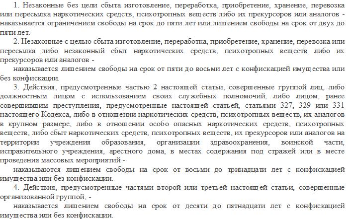 Статья 328 УК РБ в старой редакции
